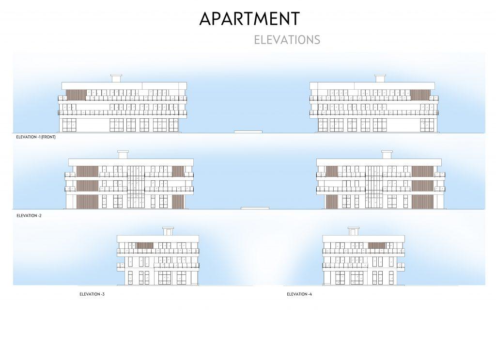 Elevaciones Apartamentos